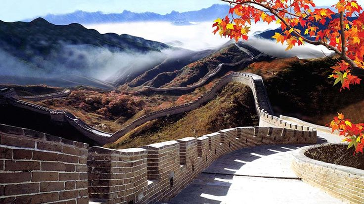 Wisata Beijing China: The Great Wall of China