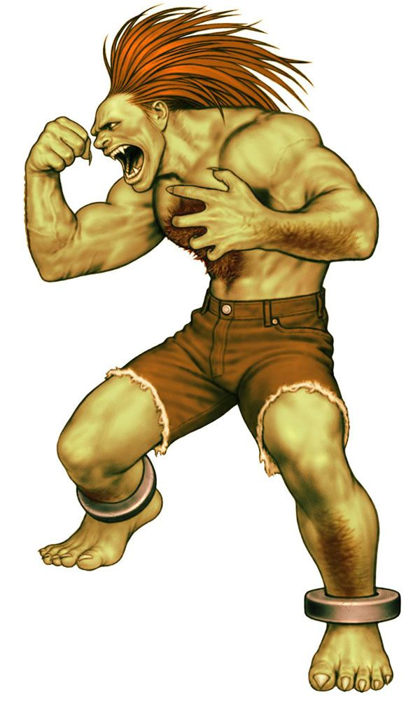 Blanka (Street Fighter) - Pictures & Characters Art - Capcom vs. SNK