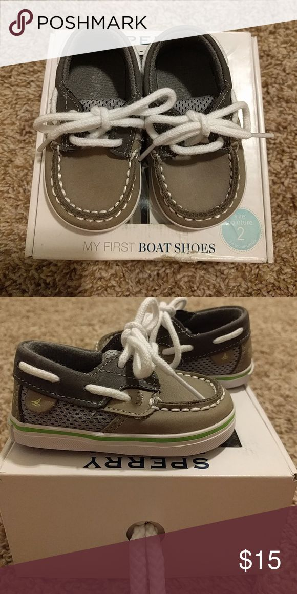 Sperry baby boy shoes Baby boy Sperry's boat shoes Sperry Top-Sider Shoes