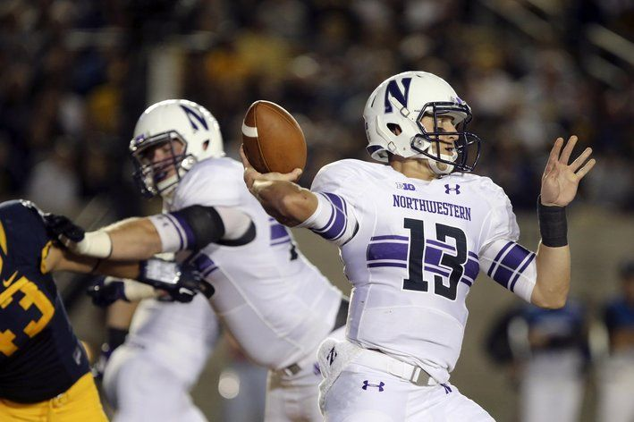 Northwestern football Trevor Siemian