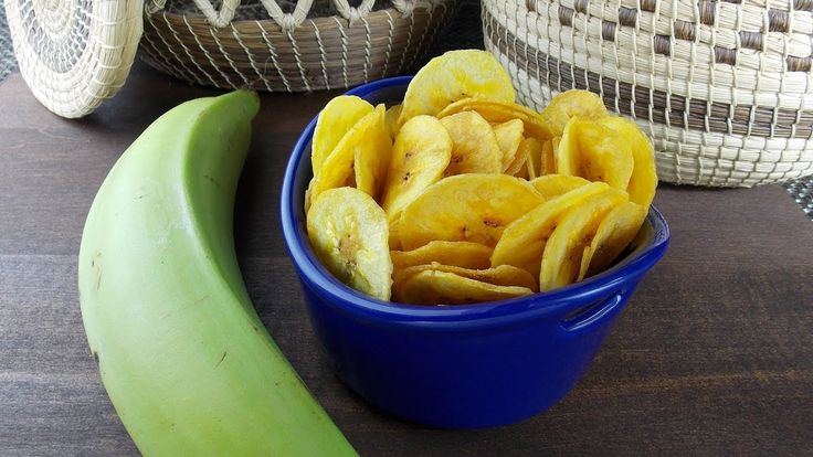 How to make Plantain Chips