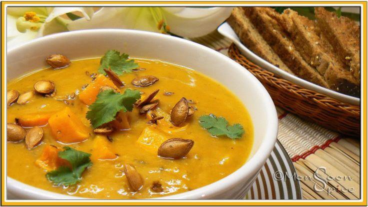 & Roasted Butternut Squash Soup: Butternut Squash Soups, Butternut ...
