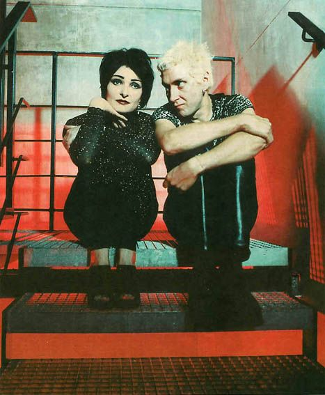 The Creatures ~ Siouxsie & Budgie - Ultimate grown up alternative style, evolving how we were.