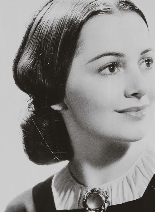 Olivia de Havilland as Melanie Hamilton in Gone With The Wind, 1939.