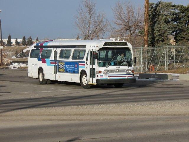 Fishbowl bus Calgary Transit