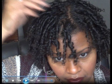 """""""Natural Hair"""" Finger Coil Out Tutorial - BEAUTIFUL!!"""