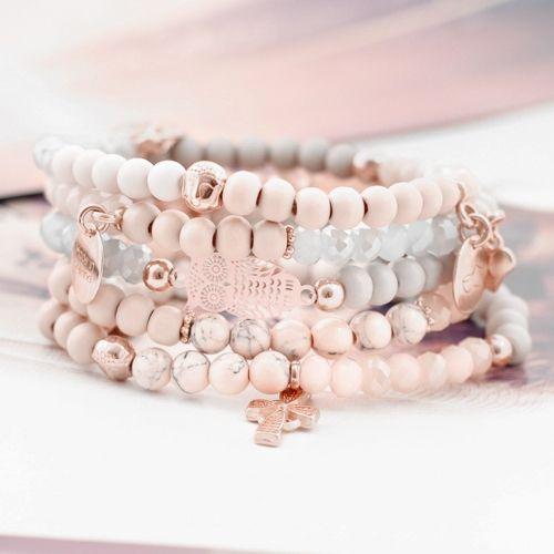 Dromerige sieraden voor girly girls, met shiny facetkralen! #jewelry
