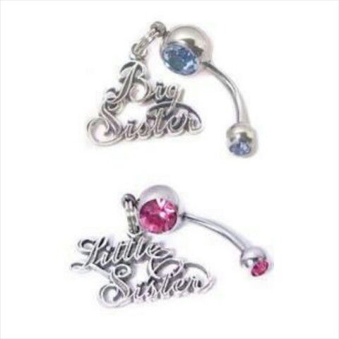Amy we could sooo do this you have to get yours done!!!! Sister belly button ring