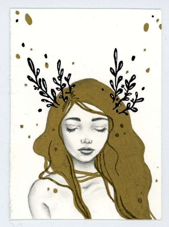 Original ACEO by Ellen Wilberg