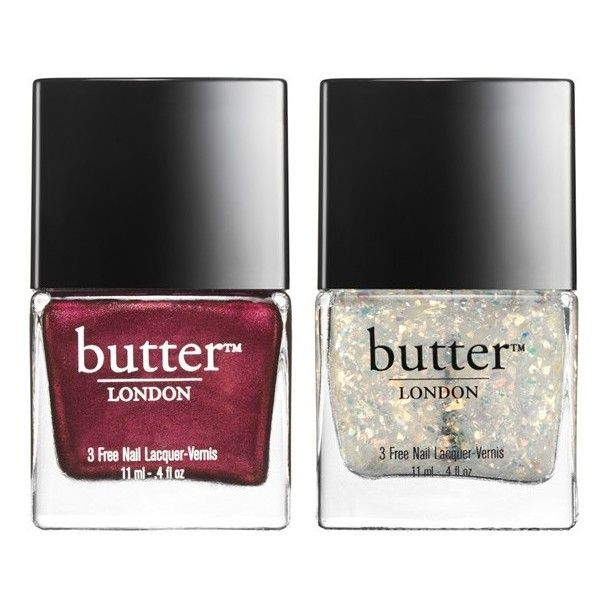 butter LONDON 'Double Take - Fire' Nail Lacquer Duo (Limited Edition)... (370 ARS) ❤ liked on Polyvore featuring beauty products, nail care, nail polish, makeup, beauty, fillers, nails, butter london, butter london nail polish and butter london nail lacquer
