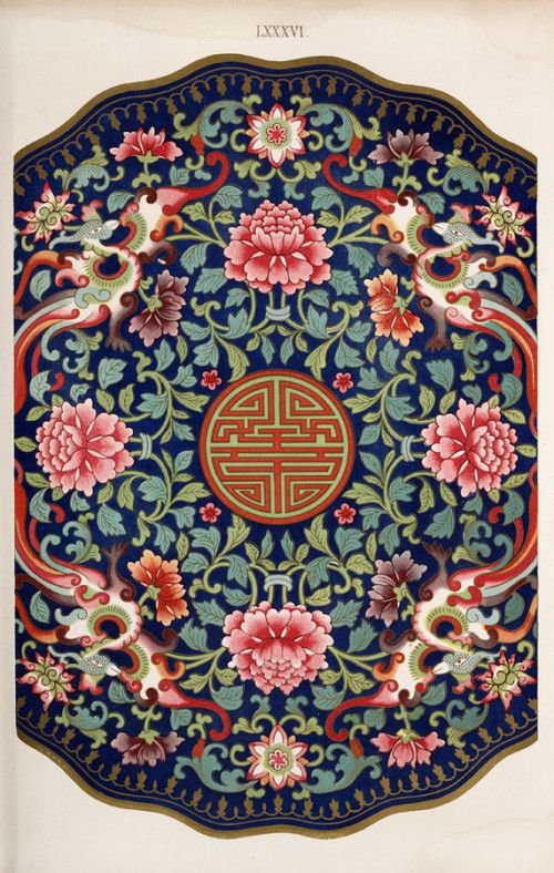 pretty Chinese pattern
