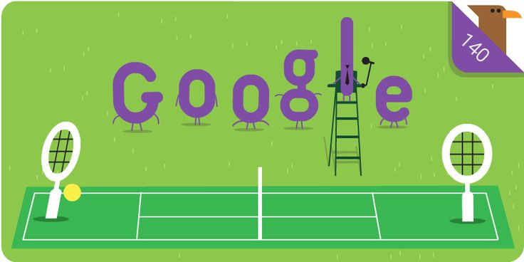 Wimbledon championship Google doodle marks 140th anniversary of world's oldest tennis tournament
