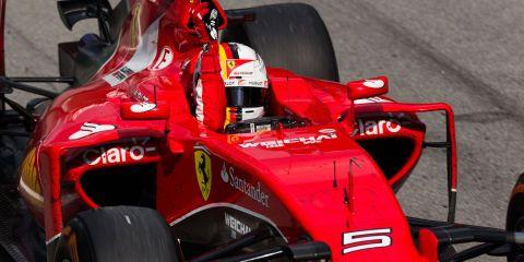 Vettel wins Malaysian Grand Prix for Ferrari
