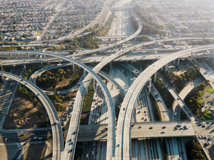 Vägfiler i Los Angeles