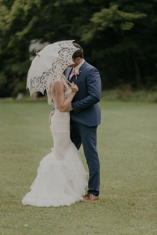 Swooned: Bethany in Inbal Dror with parasol