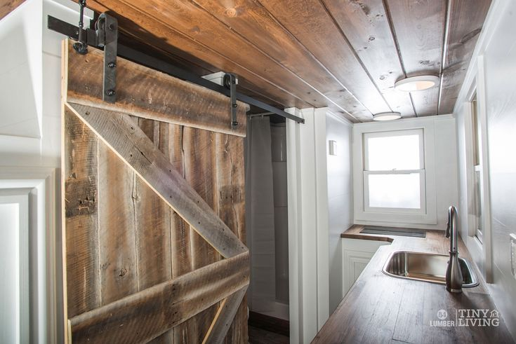 The Roving Kitchen and Rolling Door by 84 Tiny Houses - 84 Lumber