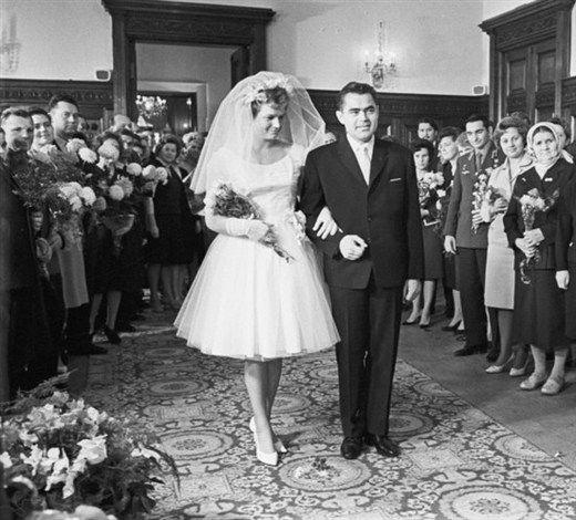 3 ноября 1963 года – «Космическая» свадьба Валентины Терешковой и Андрияна Николаева
