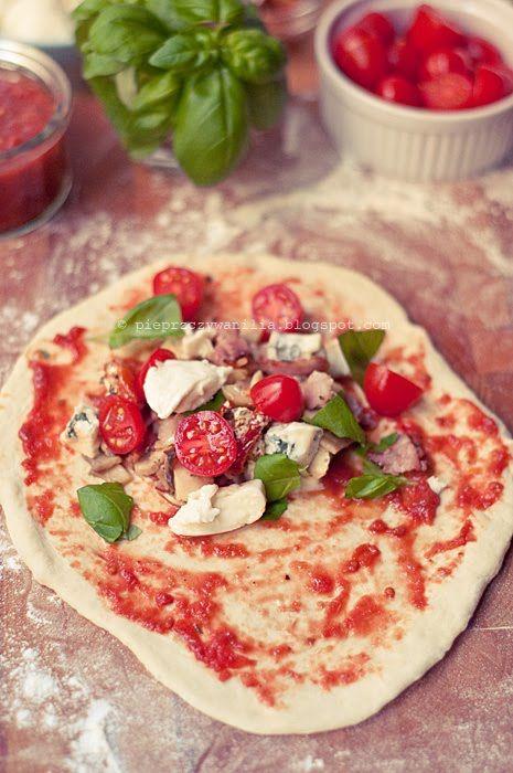 pieprz czy wanilia fotografia i kulinaria: Calzone
