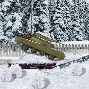 Winter tank strike - Jocuri cu masini - Jocuri100.ro