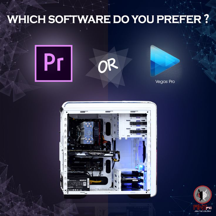 Video editing is incomplete without mentioning Sony Vegas or Adobe Premiere. The two most popular editing software but which one gives the best results? #AdobePremiereVsSonyVegas
