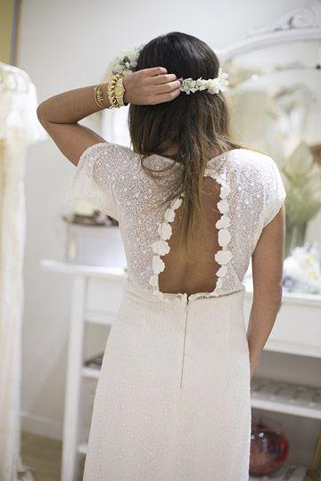 Vestidos de novia con espaldas especiales foto 12 - TELVA
