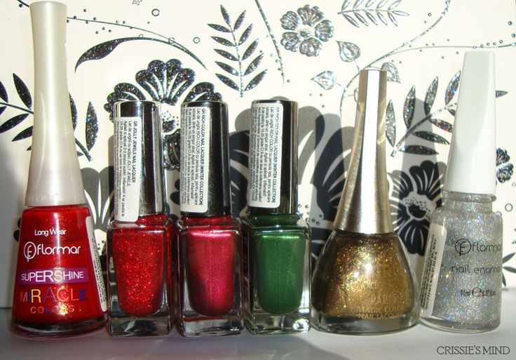 My Top 6 Christmas Nail Polishes