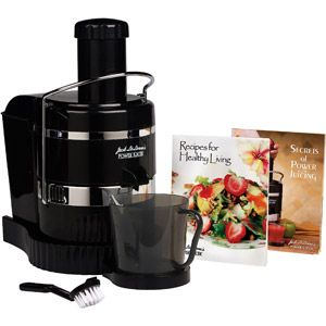 Jack LaLanne Power Juicer! I love to make homemade juice and this juicer gets the job done.