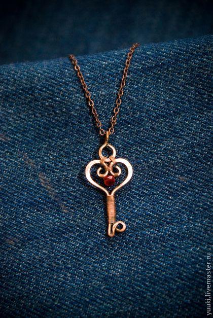 "Pendants handmade. Fair Masters - handmade Pendant ""key-heart."" Handmade."
