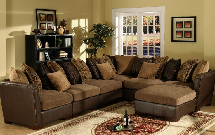 Sectional Sofa Leather And Fabric wwwresnoozecom