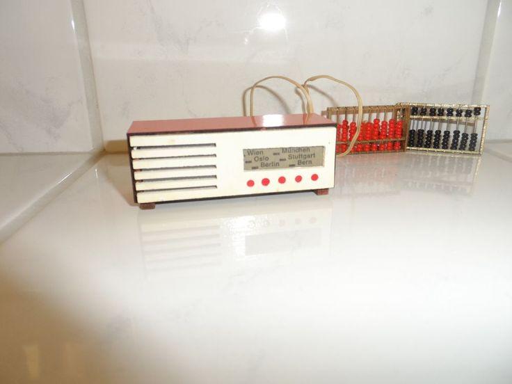 Puppenhaus Radio mit Beleuchtung