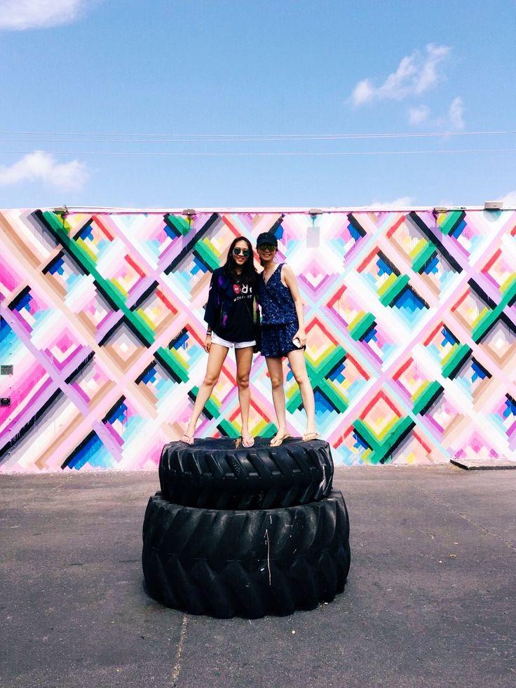 Technicolor Walls in Wynwood, Miami