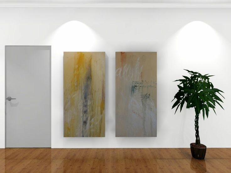 Original large scale contemporary oil paintings on stretched canvas for sale on StateoftheART Gallery