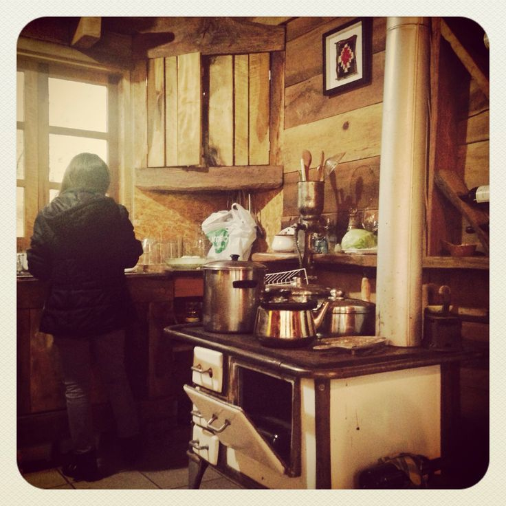 #cocina a leña