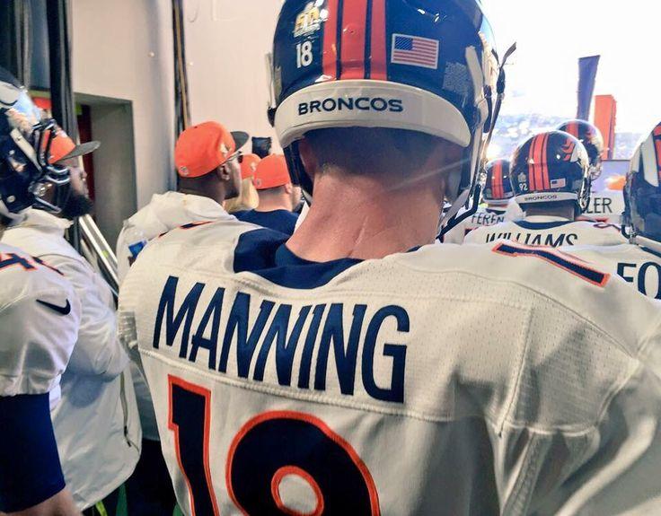 Peyton Manning Super Bowl 50 - Denver Broncos