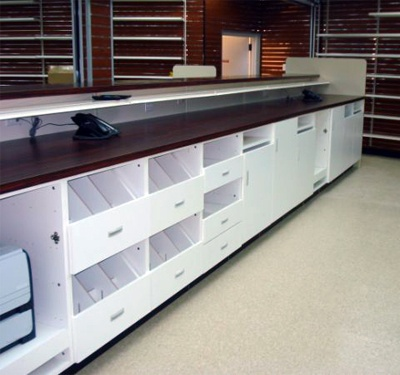 Delightful Pharmacy Cabinets   Rx Cabinets For Under Counter | Flexible Displays With  Slatwall Panels | Pinterest | Pharmacy, Cabinets And Pharmacy Design