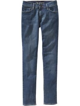 """Great jeans for """"older"""" women who still want to be stylish. They don't come too far down on the waist but they're not high-waisted either. I bought them & love them."""