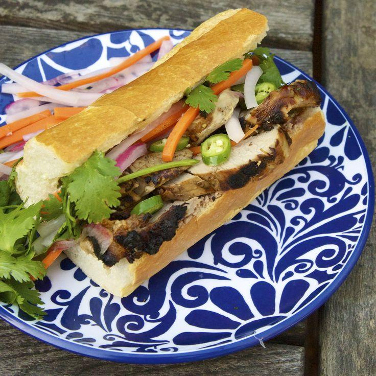 Vietnamese French Bread Roll Sandwich Yumm