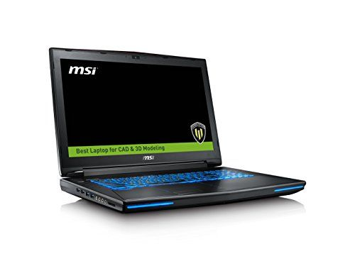 MSI WT72 6QJ-200US 17.3″ SLIM AND LIGHT WORKSTATION LAPTOP NOTEBOOK  i7-6700HQ Quadro M2000M 16GB 128GB SSD + 1TB WIN 10
