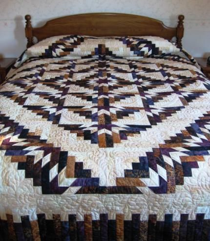 Timberline Log Cabin Quilted Goodness Pinterest