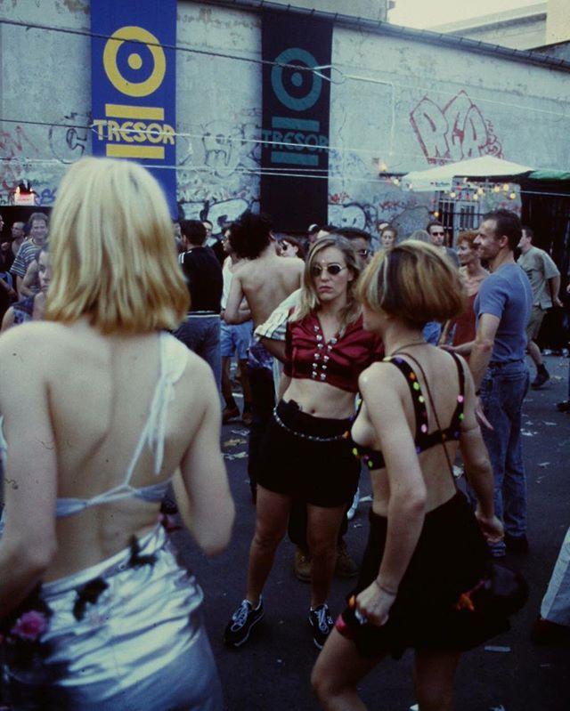 Tresor back in the day  image posted by Dimitri Hegemann  #techno #tresor #berlin