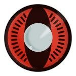 Naruto-Contact Lenses-Nine-Tails-red