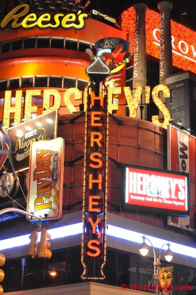Visit Hershey's @ Broadway. March 12, 2014
