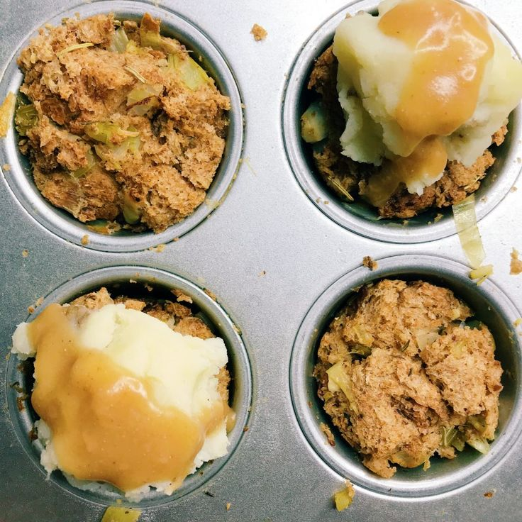 Vegan Stuffing Muffins! A Gluten-Free Stuffing! (aka a Healthy Thanksgiving Food Orgy!) – Party in My Plants