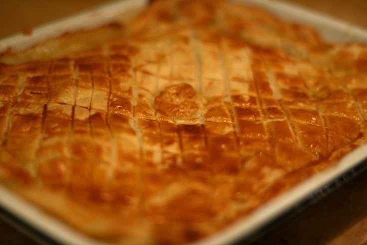 Jamie Oliver's Chicken and Mushroom Pie is dinner tonight!