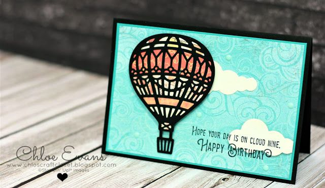 Chlo's Craft Closet - Stampin' Up! Independent Demonstrator: Onstage Display Cards Day 2 - Lift Me Up