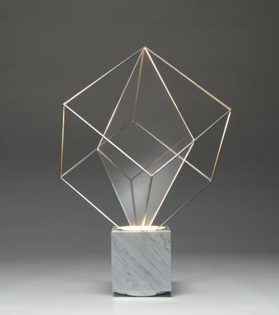 Claudio Salocchi, Tulpa Lamp for Lumenform, 1971.
