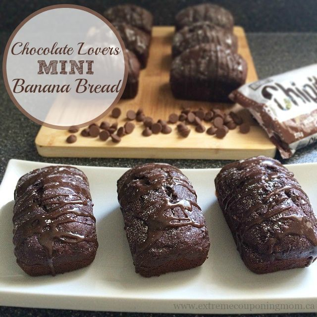 If you love chocolate and banana bread this recipe is for you! This moist, decadent, chocolate twist on my popular banana bread recipe is a quickly becoming a family favourite in our home. Try it out and let me know what your family thinks!