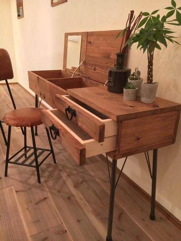 Dresser|ドレッサー・ミラー・鏡台|Baum|ハンドメイド通販・販売のCreema