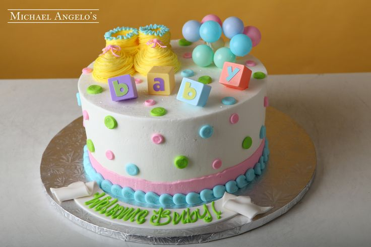 Baby Shower Cake Decorations At Michaels : 1000+ images about Baby/Kids Cakes on Pinterest Sheet ...