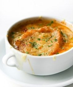Zuppa di cipolle dei Menù di Benedetta